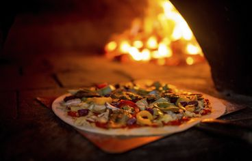 This Home Upgrade Is Burning Hot: A Pizza Oven