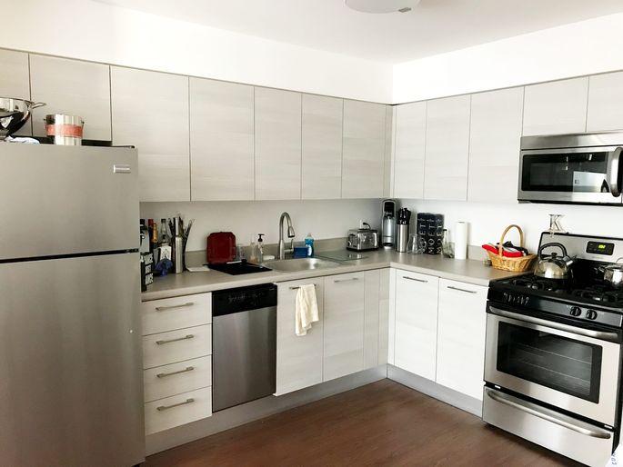 Kitchen in author's Manhattan apartment