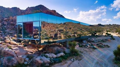 Follow in the Footsteps of Demi Lovato and Rent the 'Invisible House' in the Desert