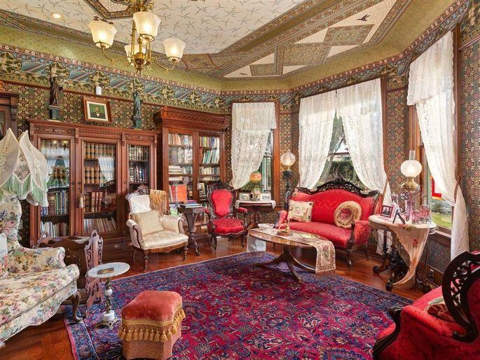 Parlor with original furniture