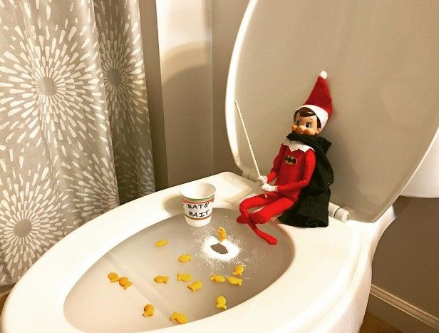 the 11 craziest places people have put their elf on the shelf