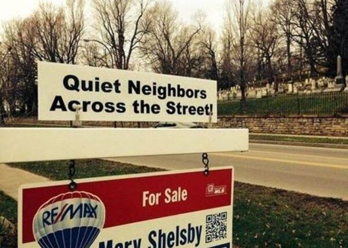 You'll never have a noise complaint on this street!