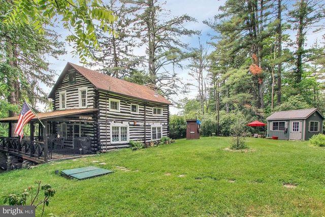 Gardeners PA log cabin exterior