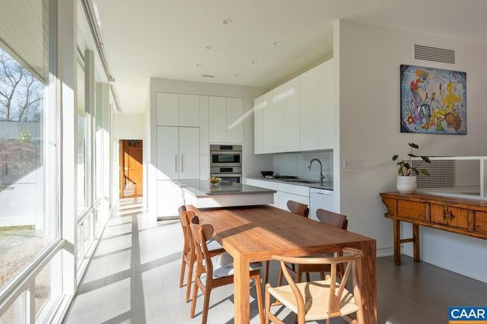 Kitchen and dining space