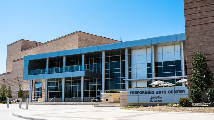 Performing arts center in Allen, TX