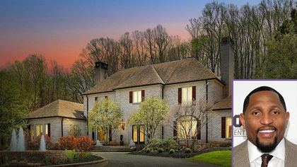 Ravens Legend Ray Lewis Selling 28-Acre Maryland Estate for $2.95M