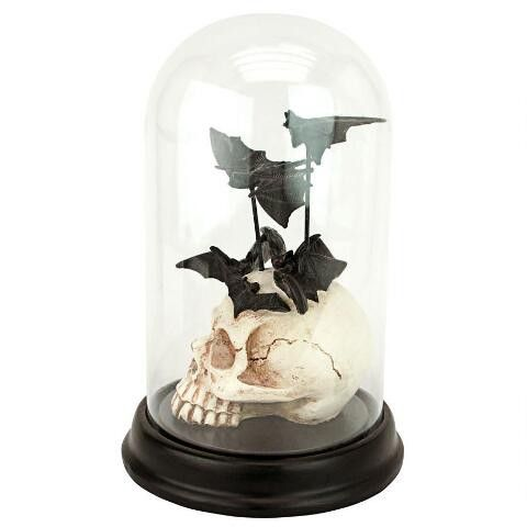 Another decorative object that toes the line between spooky and stylish.