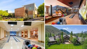 All Strikes, All the Time: 10 High-End Homes With Private Bowling Alleys