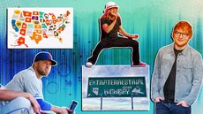 'House Party' Podcast: Would You Live Near Area 51? Plus, Ed Sheeran's Neighbor Drama