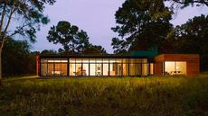 Cedar-Clad Modern Marvel Sitting Pretty in the Unlikely Locale of Indiana