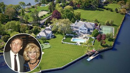 The Connecticut Mansion Donald Trump Shared With Ivana Hits Market for $45 Million