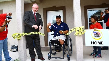 Honoring Their Sacrifice: Disabled Veterans Receive New Homes