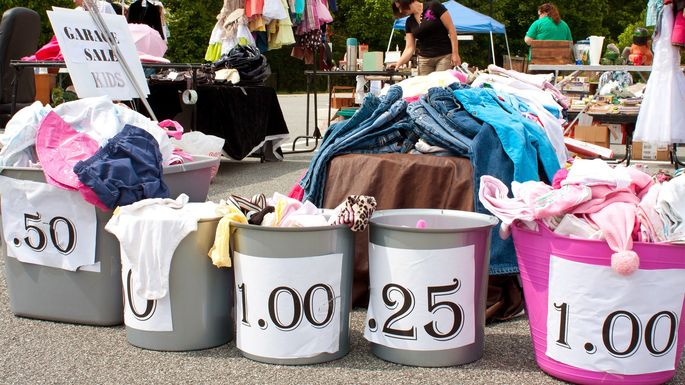 7 Strategies for a Successful Yard Sale | realtor com®