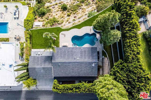 Overhead view of Cassavetes home