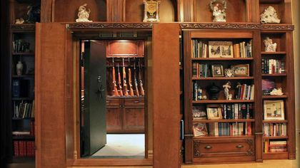 Keep the Bad Guys at Bay: 7 Luxe Homes With Safe Rooms