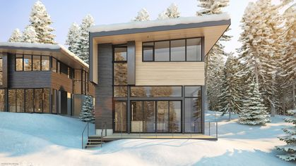 Ski Chalets Get Sleek: Apple Store Architects Design Lake Tahoe Homes