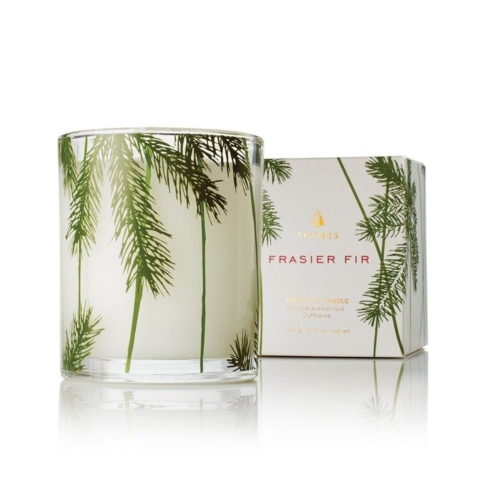 A pretty scent in a stylish glass jar