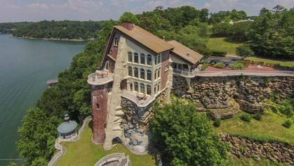 One of a Kind and Fit for a King, $4.6M Smith Lake Castle Has Royal Views