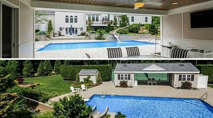 Mansions With Pools And Waterslides silde into summer: 8 pools with cool waterslides | realtor®