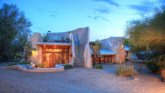 a treasure in the desert 1 2m artist built adobe home in az rh realtor com home arizona mills work from home arizona