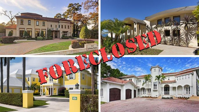 the 10 most expensive foreclosures currently for sale