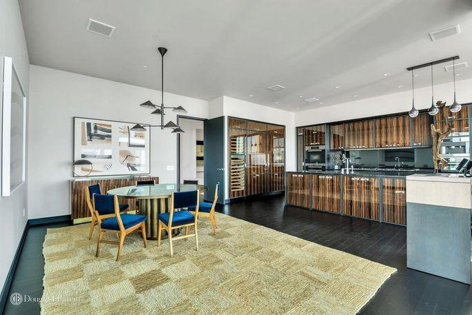 Eat-in designer kitchen
