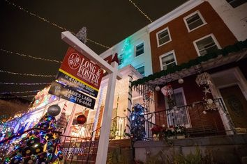 It Can Be Hard to Sell a House on One of the Merriest Blocks in the Country