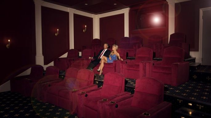 A private Imax theater