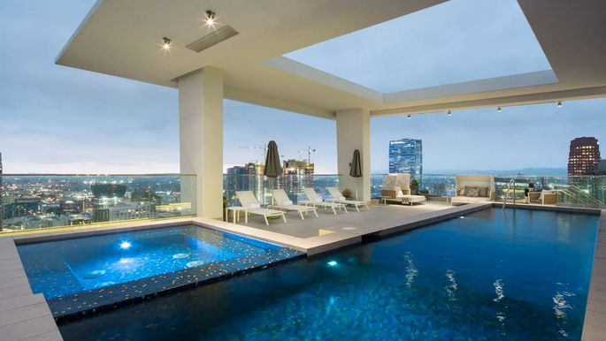 100k A Month Penthouse Takes L A S Rental Market To New Heights