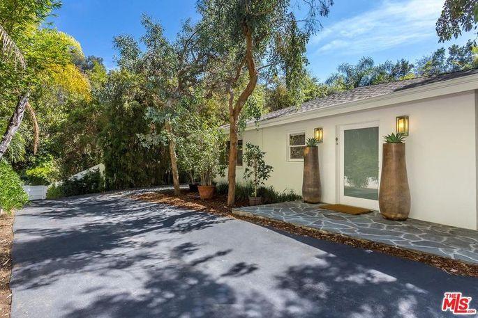 Zayn Malik's home in L.A.'s Bel Air neighborhood