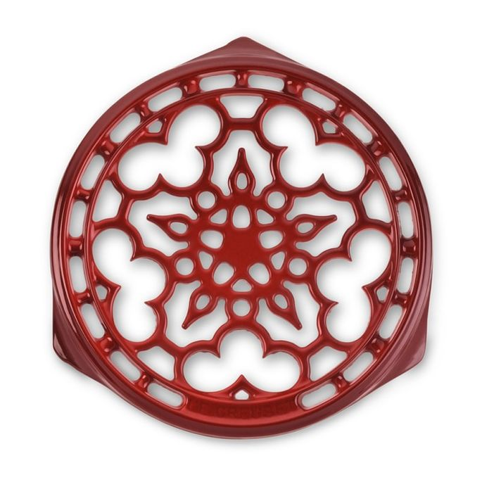 A trivet like this is beautiful, but not necessary—especially for $75.