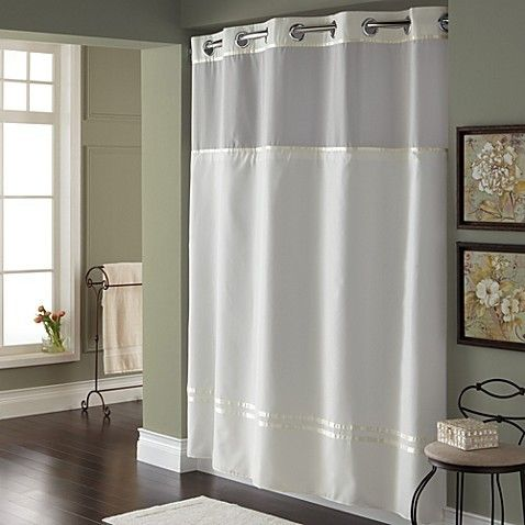 Shower Curtain, What Does Stall Size Shower Curtain Mean