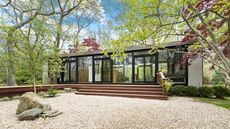 Look Into Richard Bender's Amazing Glass Cottage in Amagansett