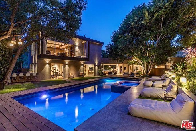 Chelsea Handler's home in Bel-Air, CA