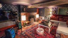 NY Country Compound Is Wallpapered to the Rafters—and Comes With Karaoke
