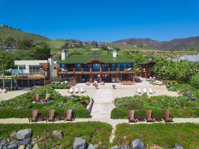 Pierce Brosnan's Malibu retreat