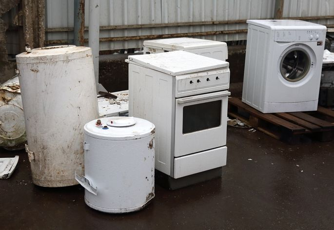 Nobody wants your used appliances.