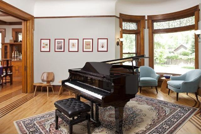 Plenty of space for the baby grand