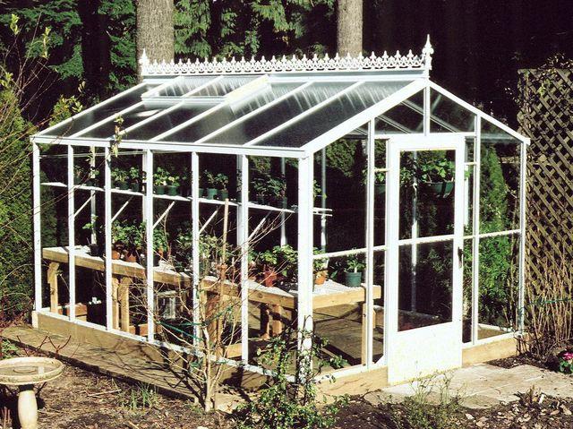 Fancy greenhouse