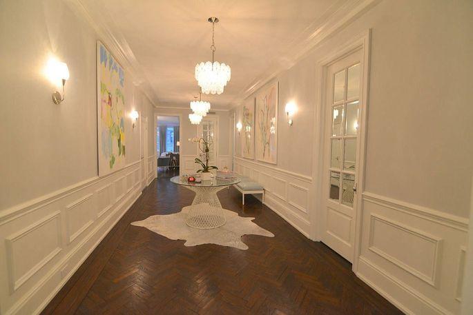 Foyer of Manhattan apartment