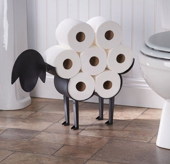 9 Hilarious Toilet Paper Holders Your Bathroom Absolutely Needs Realtor Com,Best Black Paint For Bathroom Cabinets