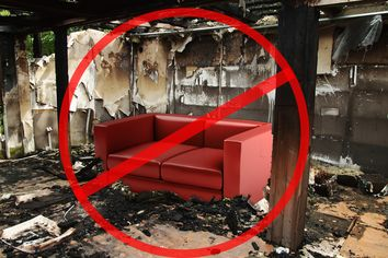 With Wildfires Blazing, Here's a Tip: Don't Get Fire-Retardant Furniture