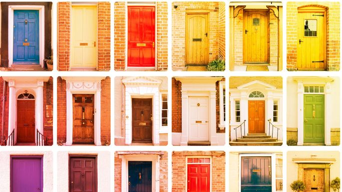 Dont Knock It 8 Homes With Colorful And Inviting Front Doors