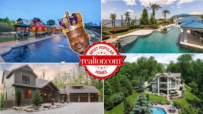 Nba legend shaquille o neal 39 s 28m mansion is most popular for Shaquille o neal s home