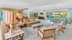 Award-Winning Midcentury Modern Restoration in Rancho Mirage, CA, Is Listed for $1.3M