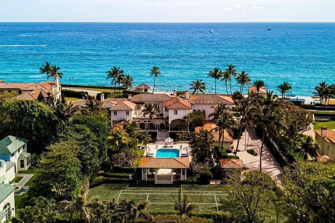 Lennon and Ono's one-time Palm Beach estate