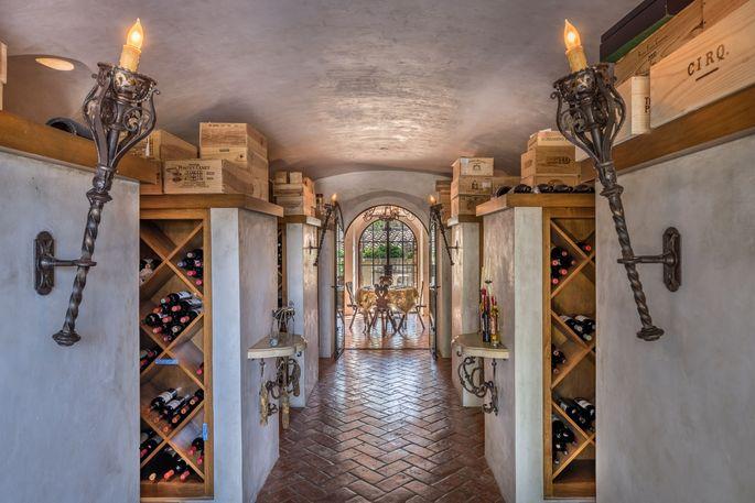 Wine cellar and tasting room