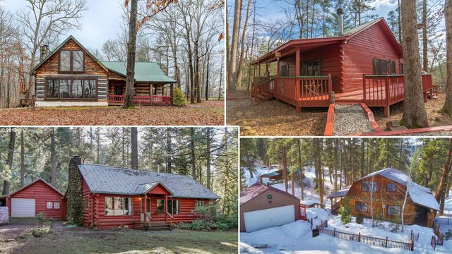 Into the Woods: We Found 10 Lovely Log Cabins Priced Below $300K