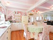 7 Celebrity Homes With Country Kitchens