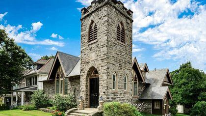 Bow Your Heads: Awesome Church-to-Home Conversion for Sale in Pennsylvania